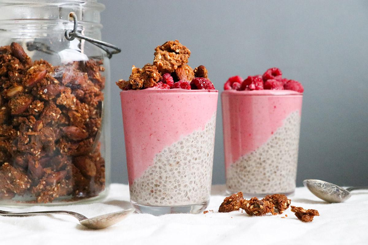 Chiayoghurt med granola – helglyx!