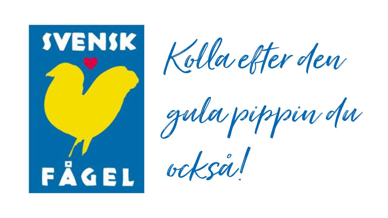 välj svensk fågel