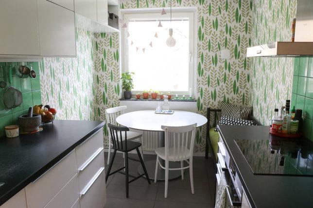 Lesscarbs kök – före och efter renoveringen