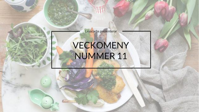 VECKOMENY Höst PÅ LESSCARBS.SE (MENY 11)