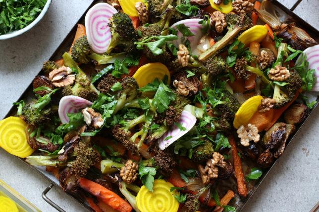 Lyxa till de rostade grönsakerna – med enkla knep!
