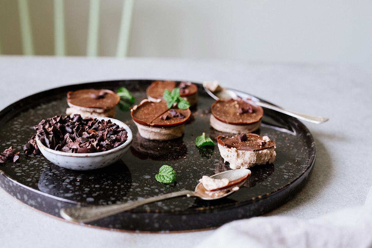 Frysta chokladfatbombs