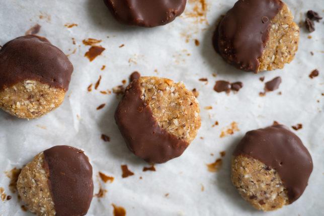 Jordnötskakor med mörk choklad – paleo/vegan