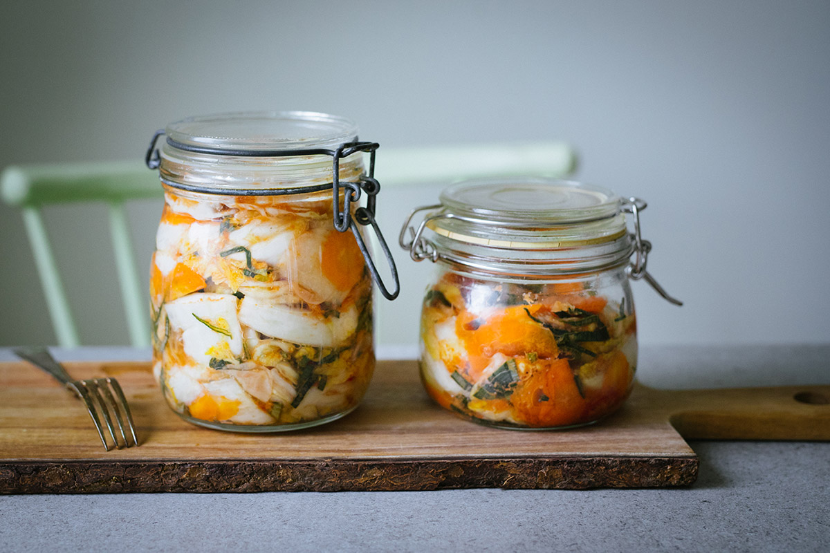 Kimchi utan fisksås