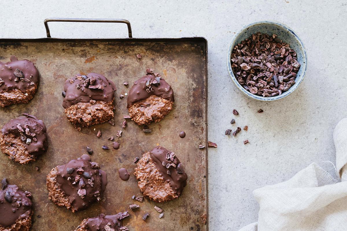 Nötkakor med choklad
