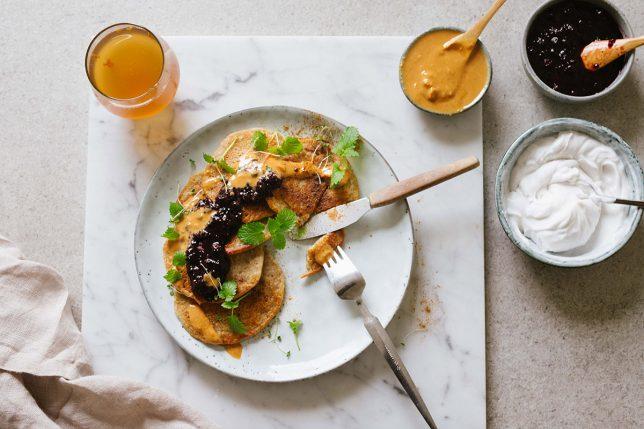 Veganska bananplättar – glutenfria med kardemumma