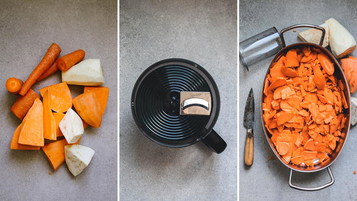 Göra gratäng med matberedare