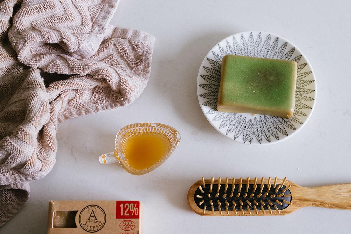 Tvätta håret naturligt