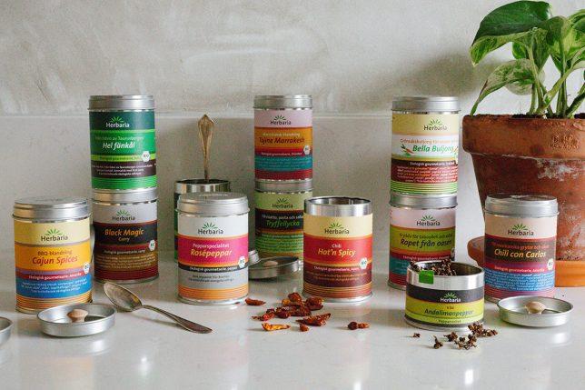 Favoritkryddor – De bästa kryddorna från Herbaria