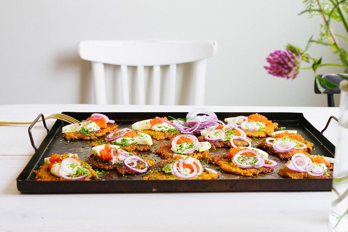 råraka med sötpotatis vegan