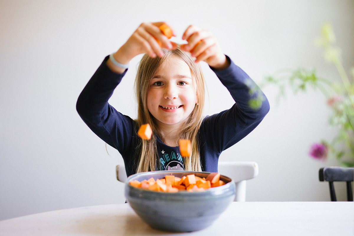 Ekologisk sötpotatis recept