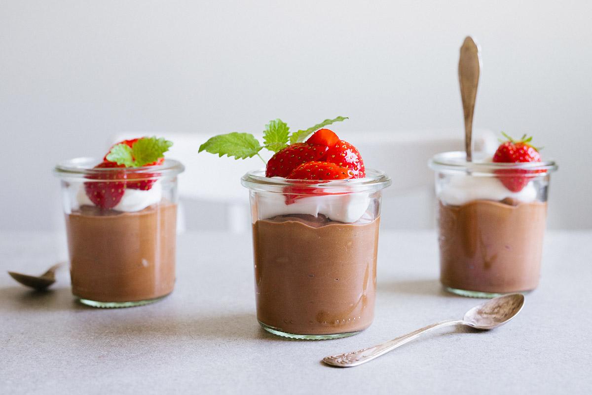 Sötpotatismousse med choklad