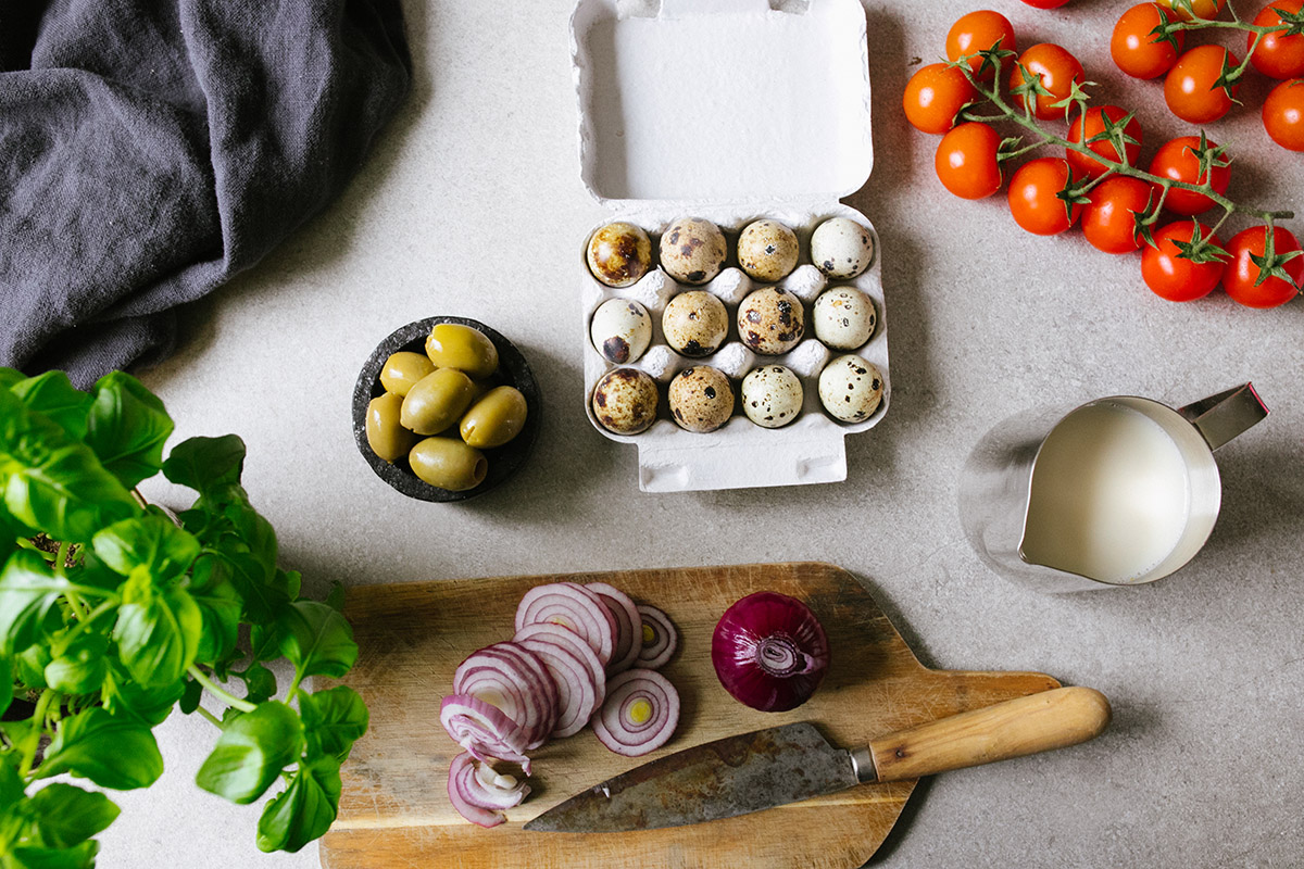 Ingredienser till glutenfri paj