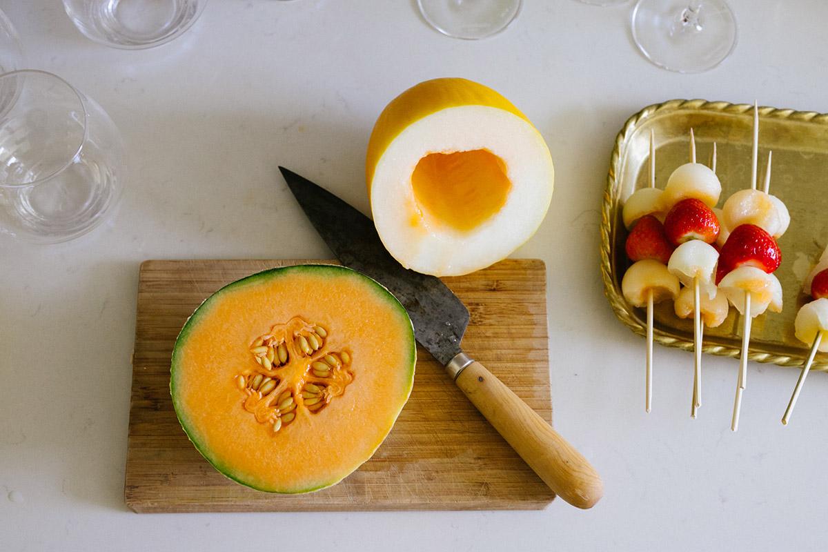 Melonspett