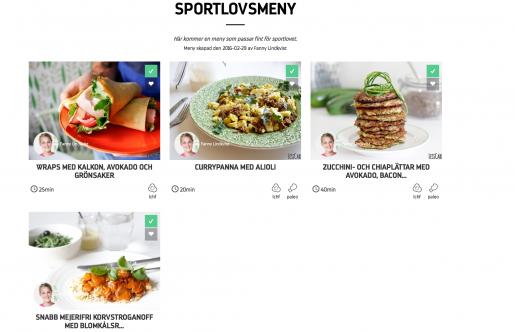 Sportlovsmeny