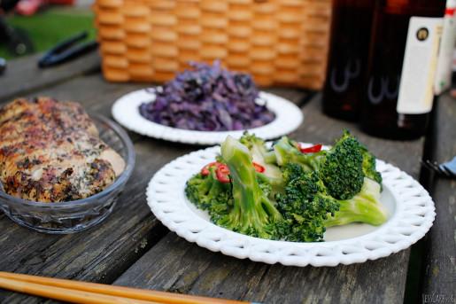 Broccoli- och kokossallad