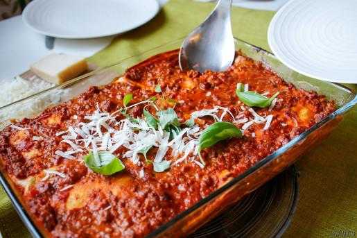 Lesscarbs lasagne