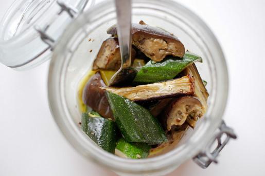 Marinerade grönsaker