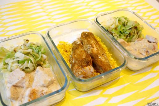 Veckans matlådor - Kyckling x 2