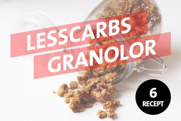 Receptsamling: Fannys lchf-granolor