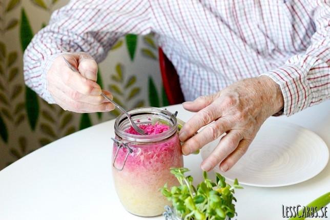 Syrade grönsaker – supergott som tillbehör!
